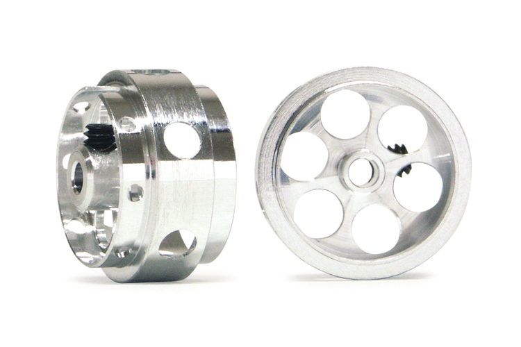 "NSR - Ultimate Aluminium wheels 17"" x 10 mm wide (No Air) - Light Weight only 0,98 gram (x2)"