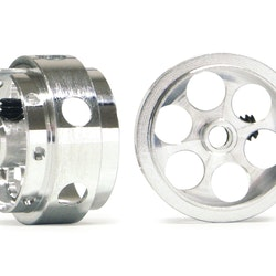 "NSR - Ultimate Aluminium wheels 17"" x 10 mm wide (No Air) - Light Weight only 0,98 gram (x2)"