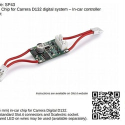 Slot.it - Digital Chip for Carrera D132 system - in-car controller