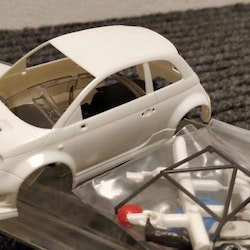 NSR - ABARTH 500 - Body Kit Clear (white unpainted)