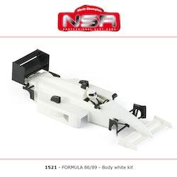 NSR - Formula 86/89 - Body Kit Clear (white unpainted)