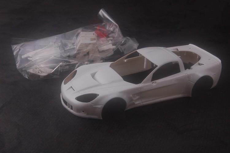NSR - Corvette C6R - Body Kit Clear (white unpainted)