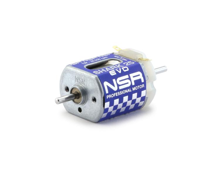 NSR - Shark 25 EVO Motor - 25.000rpm - 180 g•cm @ 12V - Short can