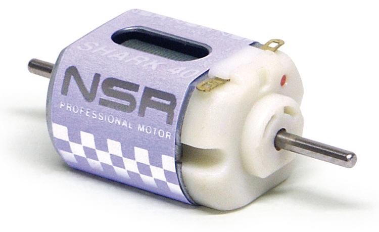 NSR - Shark 40 Motor - 40.000rpm - 210 g•cm @ 12V - Short can