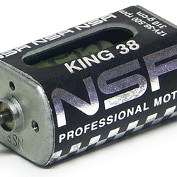 NSR - King 38 Motor - 38.500rpm - 310 g•cm @ 12V - Long can