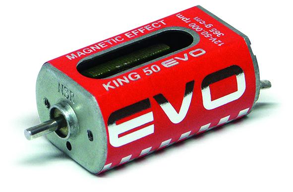 NSR - King 50K EVO Motor - 50.000rpm - 365 g•cm @ 12V - Long can