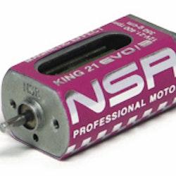 NSR - King 21K EVO/3 Motor - 21.400rpm - 350 g•cm @ 12V - Long can