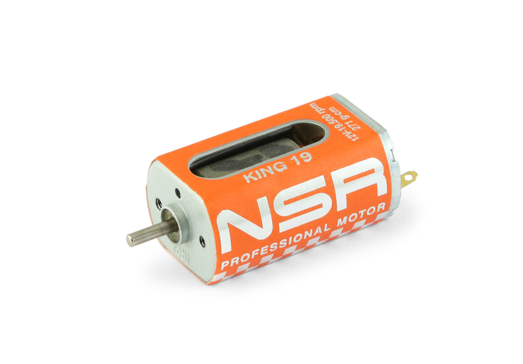 NSR - King 19K Motor - 19.500rpm - 271 g•cm @ 12V - Long can