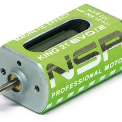 NSR - King 21K EVO/2 Motor - 21.400rpm - 322 g•cm @ 12V - Long can