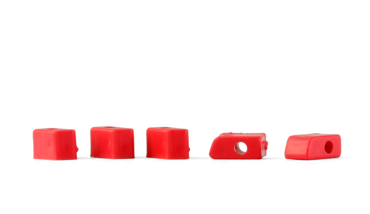 NSR - Original Plastic Cups - for Triangular motor mount 125x - 126x (10x)