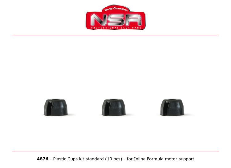 NSR - Cups of fixing - Plastic cups for inline motor support (10x)