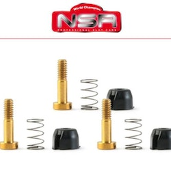 NSR - Suspensions - for inline motor mount 128x (Medium Springs)