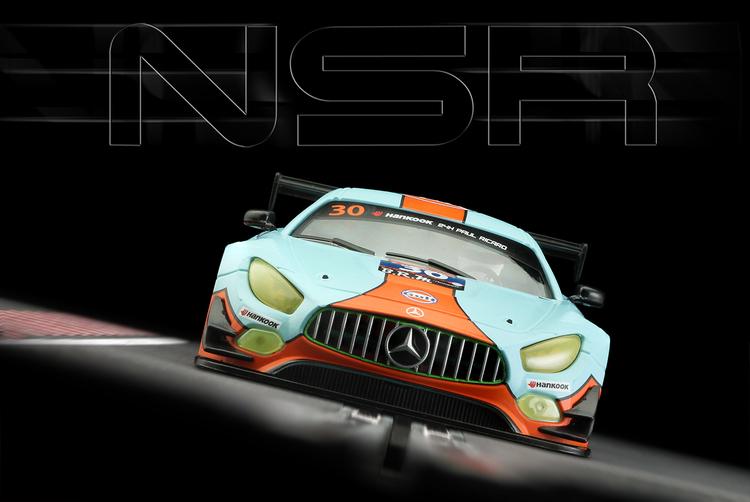 NSR - Mercedes-AMG Gulf edition 24H Paul Ricard 2016 #30 - AW King21k rpm
