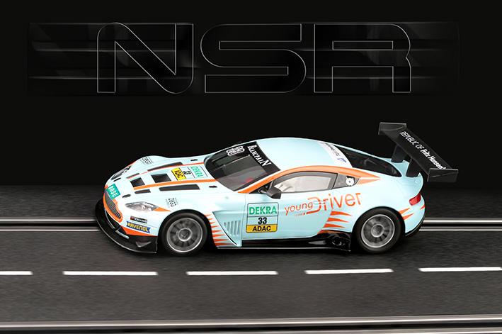 NSR - Aston Martin Vantage GT3 - Young Driver #33 - AW - King Evo3 21.400 rpm
