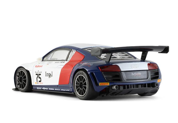 NSR - Audi R8 LMS - Blancpain Sprint Series 2015 - ISR Racing - #75 - AW - King Evo3 21.400 rpm
