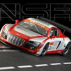 NSR - Audi R8 LMS - Ebrahim Motors - Brazilian GT Championship 2013 - #20 - AW - King Evo3 21.400 rpm