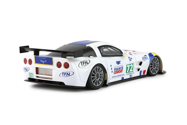 NSR - Corvette C6R - Le Mans Series 2009 #72 - SPA-Francochamps winners - AW - King Evo3 21.400 rpm