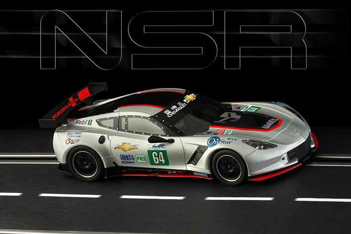 NSR - Corvette C7R - #64 Redline - Shangai 2018 - AW - King Evo3 21.400 rpm