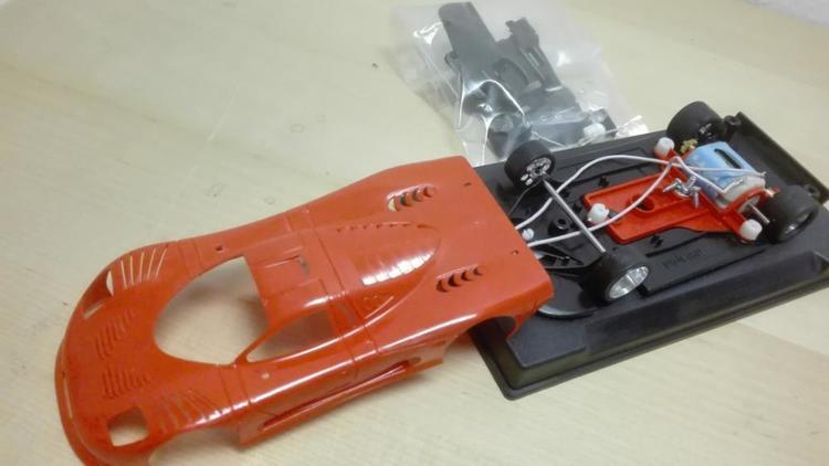 NSR - Mosler MT 900 R  EVO3 - Body Colour Kit RED - SW Shark 25k