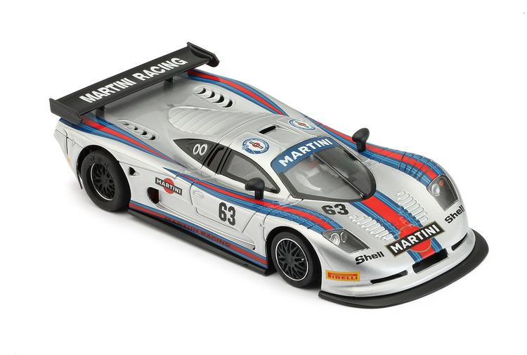 NSR -  Mosler MT 900 R EVO5 TRIA - Martini Racing grey #63 - AW King EVO 21.400 rpm