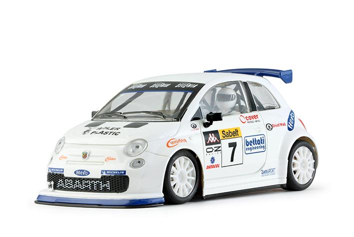 NSR - Abarth 500 Assetto Corse - Trofeo Abarth Selenia #7 - Shark EVO 20.000 rpm