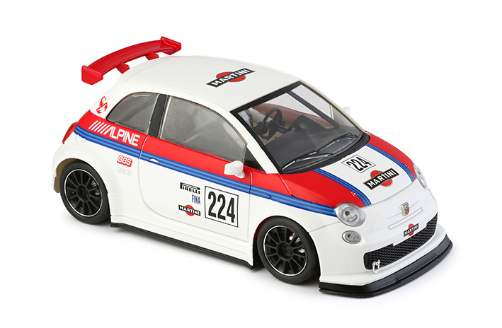 NSR - Abarth 500 Assetto Corse - Martini #224 - Shark EVO 20.000 rpm