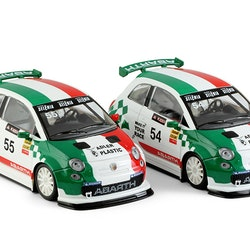 NSR - Abarth 500 Assetto Corse - Trofeo Abarth Italia - #55 - Shark EVO 20.000 rpm