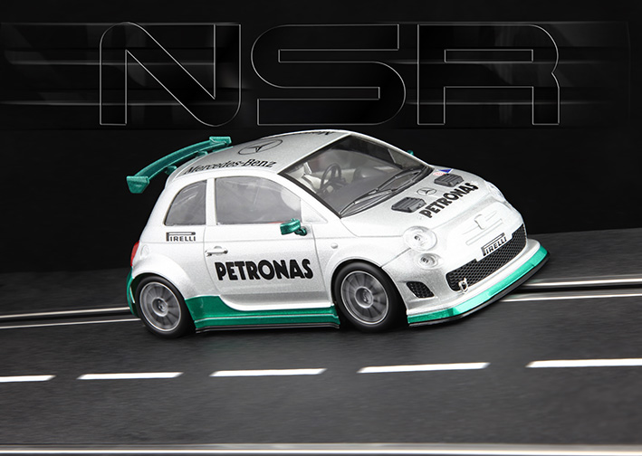NSR - Abarth 500 Assetto Corse - Limited Edition F1 Mercedes colour - Shark EVO 20.000 rpm
