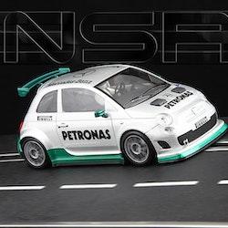 NSR - Abarth 500 Assetto Corse - Limited Edition F1 Mercedes colour - Shark EVO 20.000 rpm