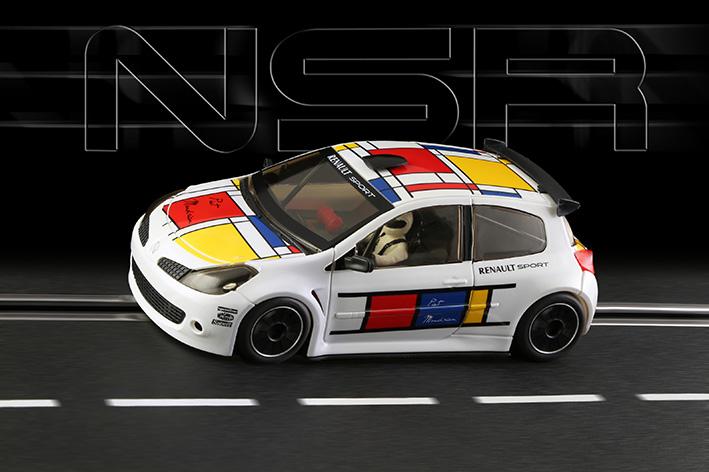 "NSR - Renault Clio ""Piet Mondrian"" - SW Shark EVO 20.000 rpm"