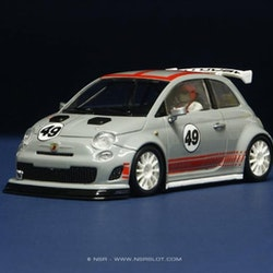 NSR - ABARTH 500 - Presentation grey - Shark EVO 20.000 rpm