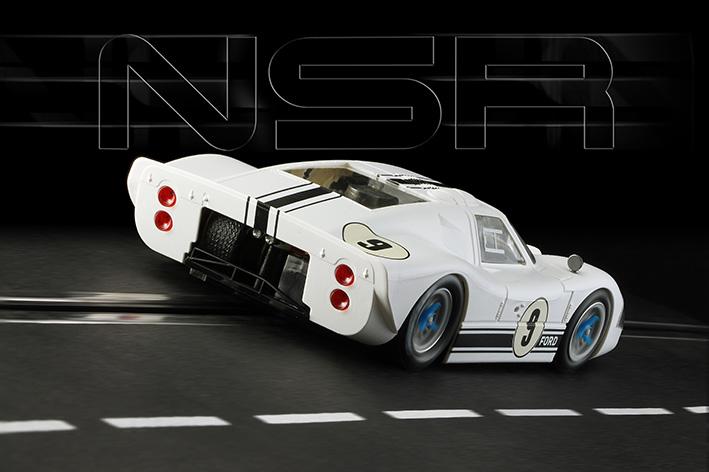 NSR - Ford Mk IV #9 - Goodwood Revival - SW Shark 20.000 rpm