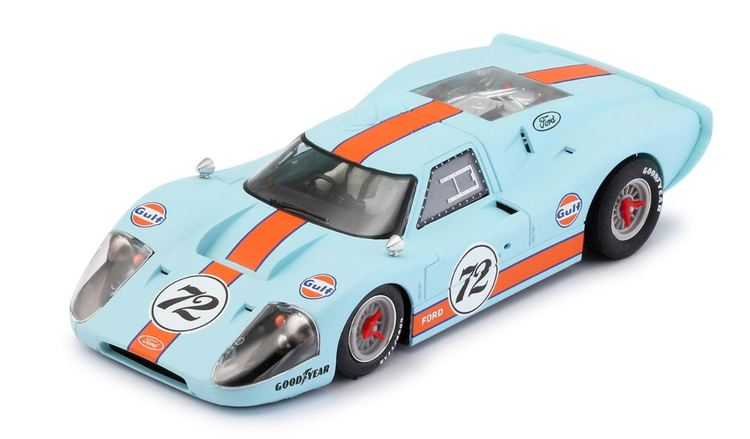NSR - Ford Mk IV #72 Gulf Limited Edition - SW Shark 21.900 rpm