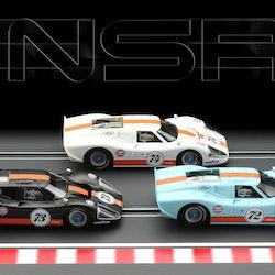 NSR - Ford Mk IV #72 Gulf Limited Edition - SW Shark 21.900 rpm