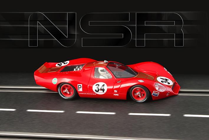 NSR - P68 Alan Mann Brands Hatch 1968 - #34 - SW Shark 20.000 rpm