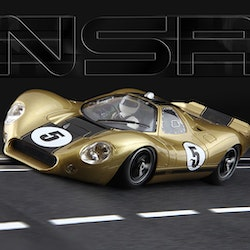 NSR - P68 Alan Mann Limited Gold Edition (500 units) - #5 - SW Shark 20.000 rpm