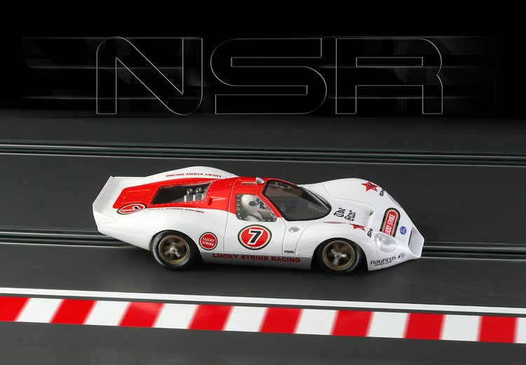 NSR - P68 Alan Mann LUCKY STRIKE #7 - SW Shark EVO 21,5 21.900 rpm
