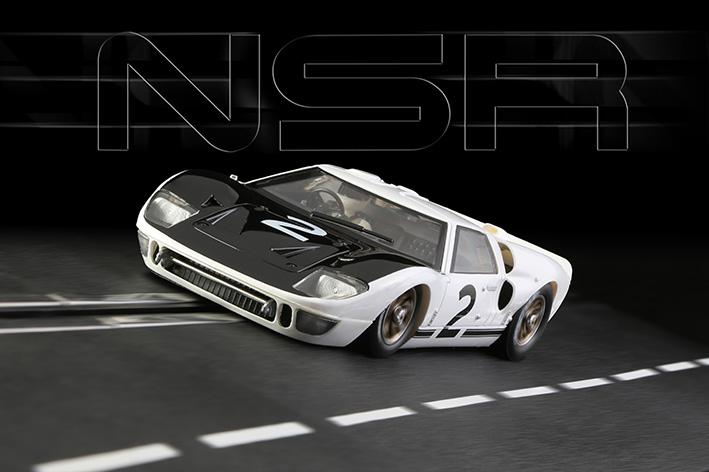 NSR - Ford GT40 Mk II Le Mans Test 1966 #2 - Ken Miles - SW Shark 20.000 rpm