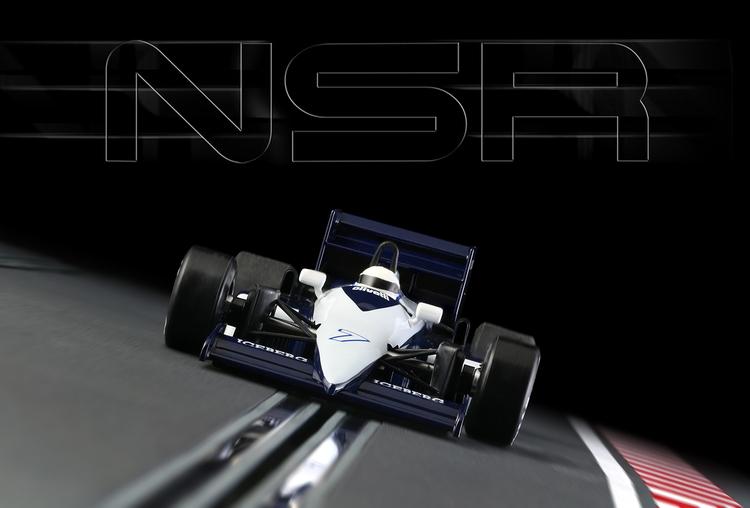 NSR - Formula 86/89 Blue Olivetti #7 - IL King Evo3 21.400 rpm