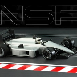 NSR - Formula 86/89 SILVER Test Car - IL King Evo3 21.400 rpm