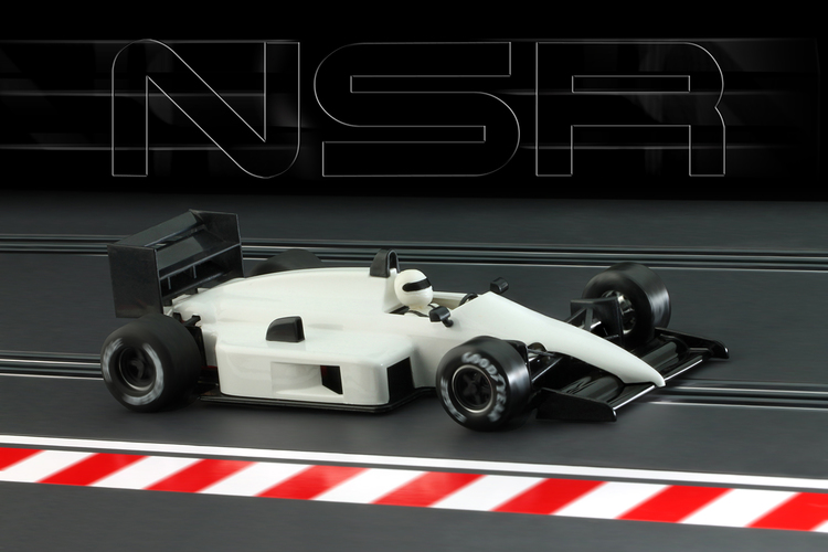 NSR - Formula 86/89 WHITE Test Car - IL King Evo3 21.400 rpm