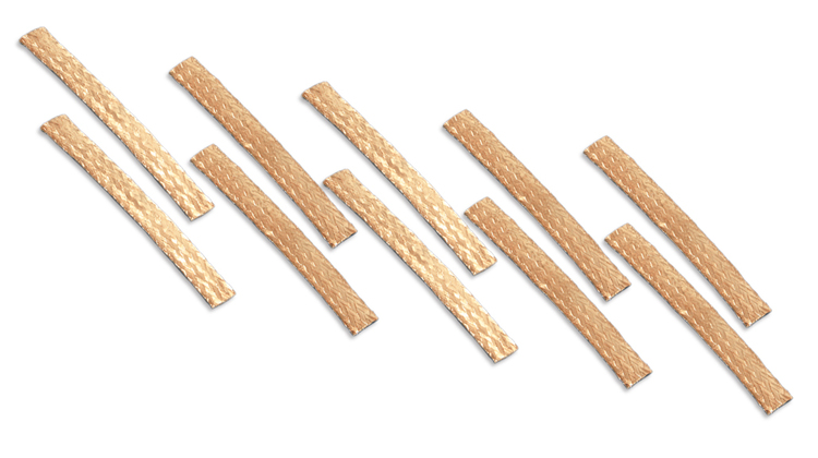 NSR - Copper Braids - Super Racing - very thin braids, ONLY 0,2mm (x10)