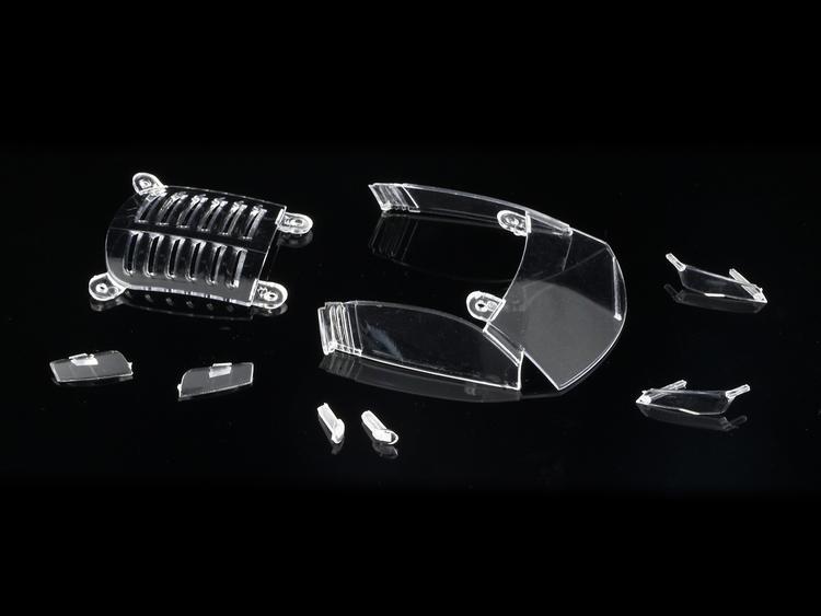 NSR - Windows & Lights for Audi R8