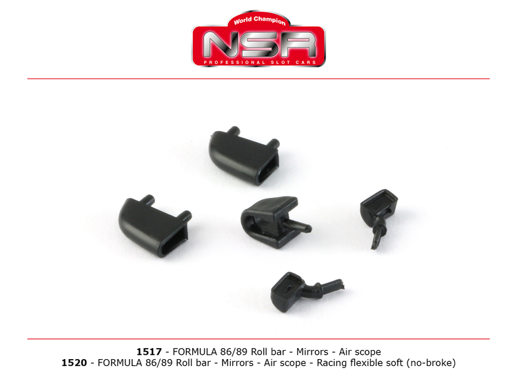 NSR - Roll bar, Mirrors, Air Scope for Formula 86/89