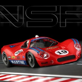 NSR - P68 MARTINI RACING RED #19 SW SHARK 21.5K EVO
