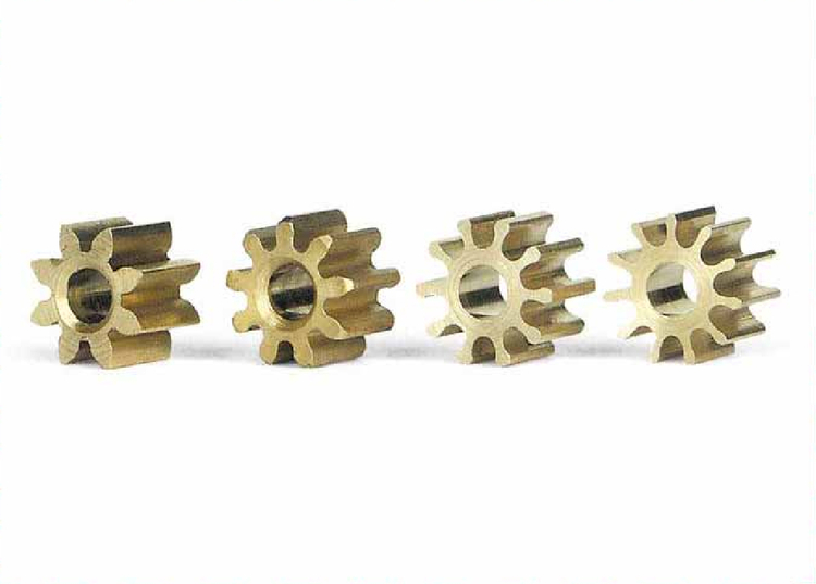 Slot.it - Drevsats pinion (motordrev) Inline 8+9+10+11 kuggar (Ø 5.5mm)