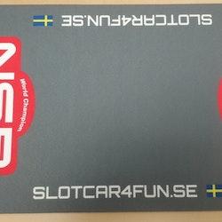 NSR - Mekmatta 60x30 cm - SLOTCAR4FUN.SE - Grå