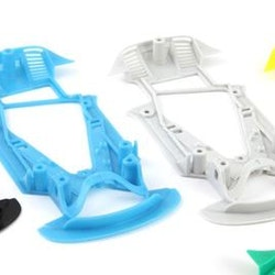 NSR - ASV GT3 XTRALIGHT YELLOW CHASSIS - for inline/anglew setup