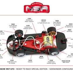 NSR - PORSCHE 997 24H PORTIMAO 2018 LIVERY #912 - READY TO RACE SPECIAL EDITION - SW SHARK  30K