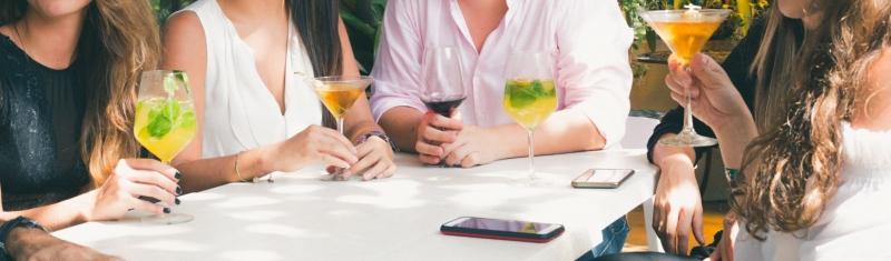Om man har slutat med alkohol, vad säger man då på en middag eller fest till folk som frågar?